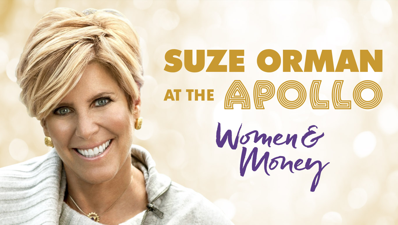 Suze Orman Live at the Apollo: Women and Money Special - Invent TV
